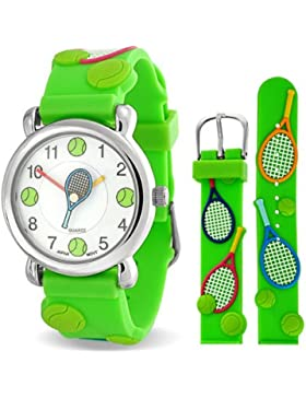 Bling Jewelry srd-ab1077–Uhr, Gummi-Armband Grün