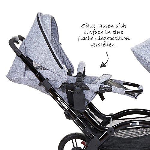 ABC Design Zoom – Zwillings- und Geschwisterkinderwagen - 4