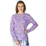 Instict Women's Cotton Tops (1516_M, Pur...