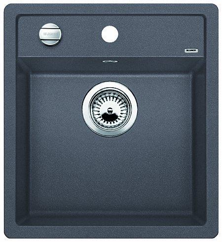 Preisvergleich Produktbild Blanco Dalago 45-F Felsgrau Flächenbündig Granit Küchenspüle Grau Spülbecken