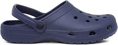 Zone - Adults Eva Navy Slip On Clog Sandal