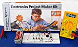 Electronics Project & circuits Maker Kit with spares, Multimeter, EBook