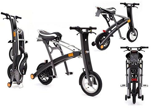 Stigo Bike 200W E-Scooter, schwarz/silber - 5