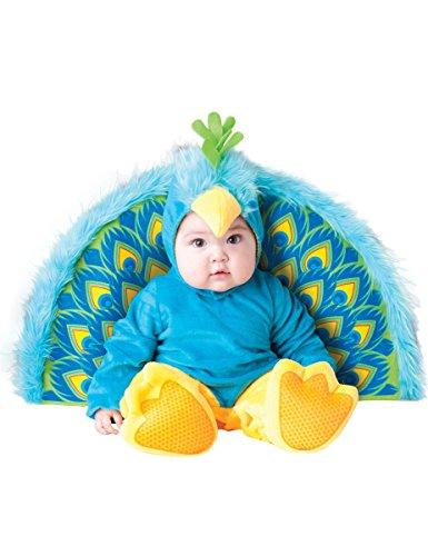 Flirty Pfau-Kostüm für Babys (Pfau Kostüme Für Baby)