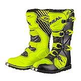 0329-515 - Oneal Rider EU Motocross Boots 49 Neon Yellow (UK 14)