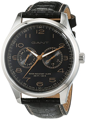 Gant Montauk Time Men's Quartz Watch with Day Date Analogue Quartz Leather W71601