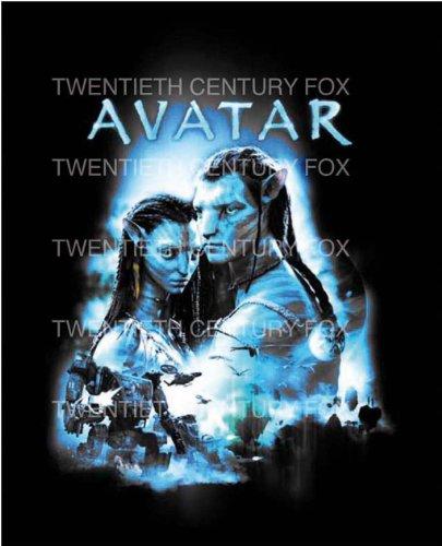 Belltex Avatar Fleecedecke Neytiri & Jake Sully 130 x 160 (Kostüme Avatar Home)