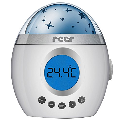 Reer–Mi Magic Starlight Lullaby sonido máquina luz nocturna proyector