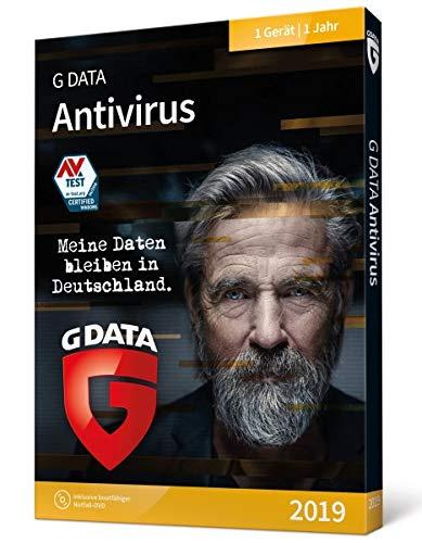 G DATA Antivirus 2019 1 anno/i Tedesca