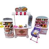Luxuriöse 11.5'' Doll House Wohnzimmer Möbel Set-Supermarkt
