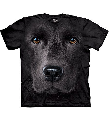 The Mountain T-Shirt - Black Lab Face Herren Tee XL (Herren-lab)