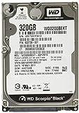 Western Digital WD3200BEKT Black 320GB interne Festplatte (6,4 cm (2,5 Zoll), 7200rpm, 16MB Cache, SATA)