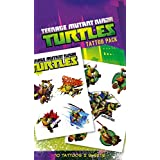 Las Tortugas Ninja - Shellheads, 10 Tattoos Set De Tattoos (17 x 10cm)