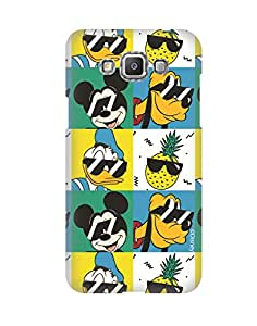 Pick Pattern with Exclusive DISNEY Characters Back Cover for Samsung Galaxy Grand Max SM-G720