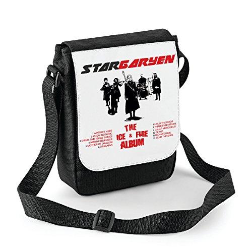Mini borsa a tracolla Game of Thrones - Stargaryen - The ice & fire album - il trono di spade- serie tv - Bianco