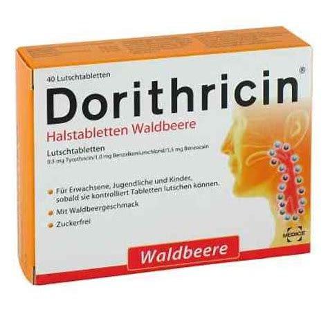 Dorithricin Waldbeere Spar-Set 3x20 Halstabletten. Schnelle und effektive Hilfe bei Halsweh und Schluckbeschwerden.