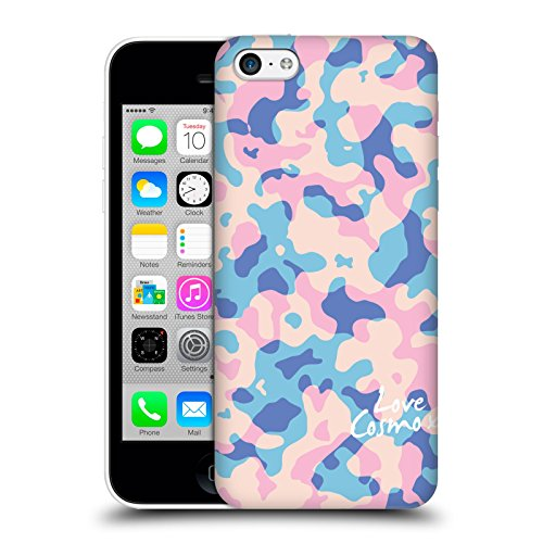 Official Cosmopolitan Pastel Camo Hard Back Case for Apple iPhone X Pastel