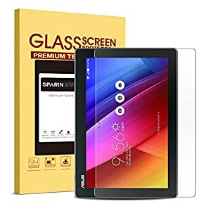 ASUS ZenPad 8.0 (Z380C / Z380M) Screen Protector [Tempered Glass], SPARIN [Explosion-proof] [Repeatable Installation] Clear Glass Screen Protector for ASUS ZenPad 8.0 (Z380C / Z380KL / Z380M)