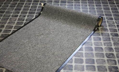 Meter Schmutzfangläufer Granat 90 cm Breit, braun - Granat-teppich