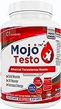 MOJO™ TESTO Testosteron booster | Testo Booster | Erhöht den Testosteronspiegel | Bockshornklee | Tribulus Terrestris | L-Arginin und MACA