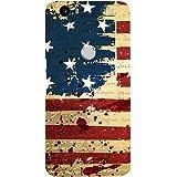 Casotec USA Flag Design Hard Back Case Cover for Nexus 6P