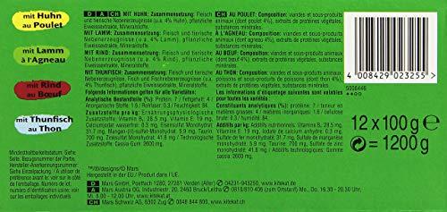 Kitekat Katzenfutter Nassfutter Adult für erwachsene Katzen Markt Mix in Gelee, 48 Portionsbeutel (2 x 24 x 100g) - 6