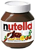 Nutella Hazelnut Spread with Cocoa, Jar, 750g