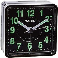 Casio TQ-140-1EF Réveil Quartz Analogique Alarme, Noir