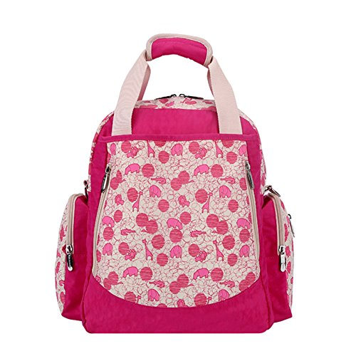 honeystore-diaper-bag-special-for-fashion-mom-baby-protable-bag-fuschia