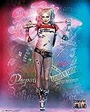 DC Comics Suicide Squad, Harley Quinn, Support de Maintien, Mini Poster, différents