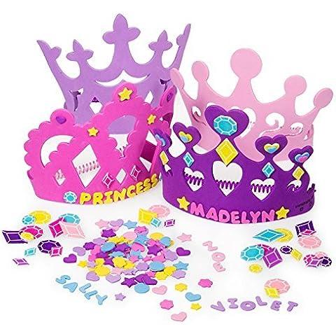 Fun Express Princess Tiara Crown Craft Kits by Oasis Supply - Tiara Kit Craft