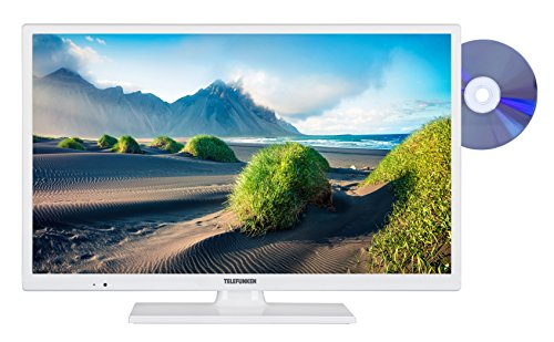 Telefunken XH24D101D-W 61 cm (24 Zoll) Fernseher (HD Ready, Triple Tuner, DVD-Player) (Receiver Dvd-player)