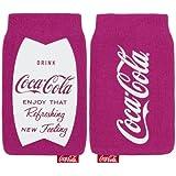 Original Coca Cola Universal Socke Tasche Fuschia Rosa Retail Verpackung geeignet für Samsung Galaxy Ace 4
