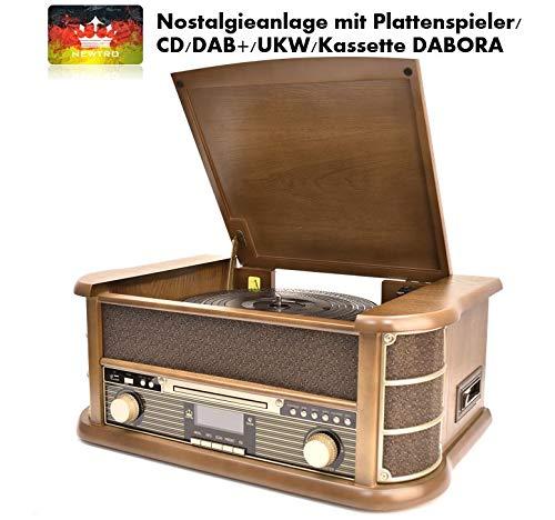 ge mit Plattenspieler/CD/DAB+/UKW/Kassette DABORA ()
