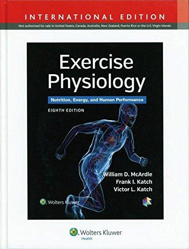 Exercise Physiology (International Edition) por Vv.Aa