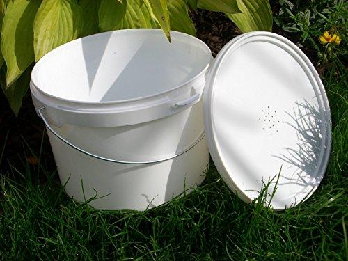 simonthebeekeeper 6 x Beekeepers 1/2 Gallon CONTACT FEEDERS 6