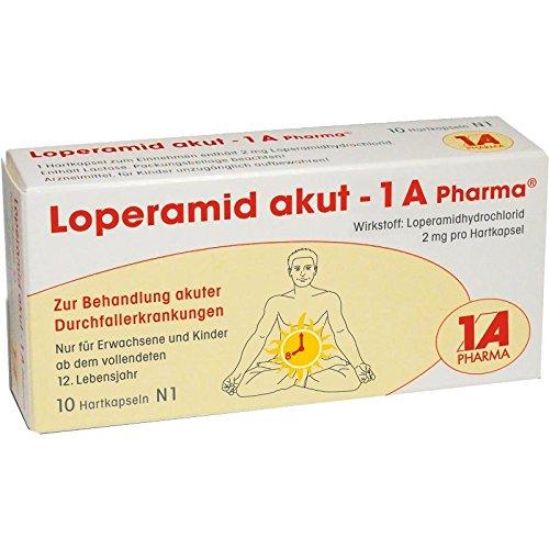 Loperamid akut-1A Pharma 10 stk