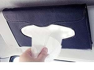 Goodway Hygienic Car Sun Visor Tissue Box Dispenser ( Black) With Free Tissues