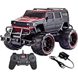 Zest 4 Toyz Remote Control Big Hummer Style Truck 1:20 (Red Black Xc02)