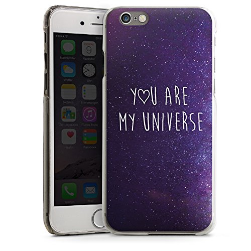 Apple iPhone 6 Plus Housse Étui Protection Coque Phrase Amour Amour CasDur transparent