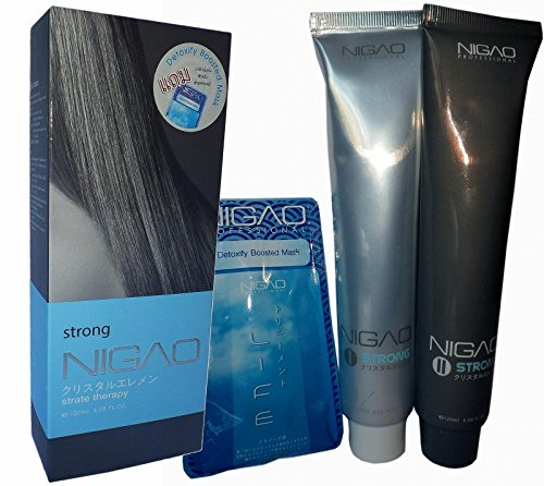 Nigao Japanese IDA Cyrstal System Hair Straightening Cream STRONG by Nigao Japan