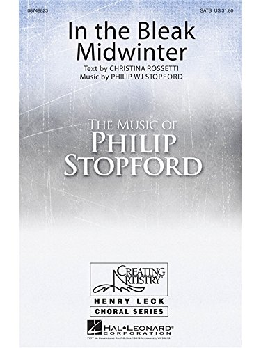 In The Bleak Midwinter - SATB - CHORAL SCORE