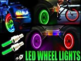 #9: Car, Bike Cycle Tyre Flash Wheel Lights (No of lights in the box - 2)