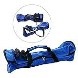 Eaxus Tragetasche für Waveboards / Scooter / Skateboards aus Nylon. Blaue Sporttasche zum Transport und Schutz Ihres Geräts. Maße: 58,4x 18,6x 17,8 cm