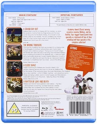 Wallace and Gromit - The Complete Collection [Blu-ray] [Import anglais]