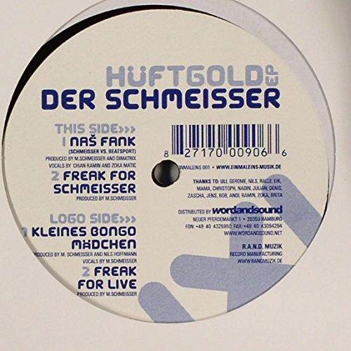 Der Schmeisser - Hüftgold EP - Einmaleins Musik - EINMALEINS 001