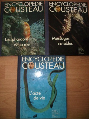 Encyclopédie cousteau l'aventure de la vie
