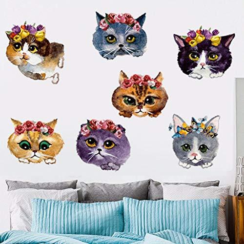Maison 3d Chat Autocollant Mural Animal Maison Pet Shop