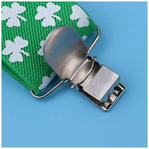 BESTOYARD-St-Patricks-Day-Accessoires-Hosentrger-Kleeblattklee-Irish-Day-Kostm-Party-Favors