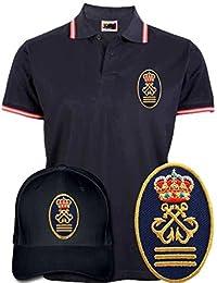 Polo Bandera España + Gorra de Capitán de Yate